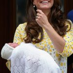 A beaming Kate introduced her newborn daughter Princess Charlotte on the steps of the Lindo Wing Photo C GETTY