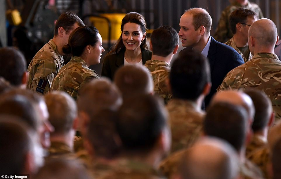 William said the couple both know a bit of what it feels like to balance your work commitments with your family life