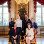 Ah the classic shot in front of the Christmas tree Norways royal family Photo C GETTY