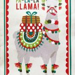 And in a Christmas card left showing a colourful llama she writes Because you have always been so generous with me