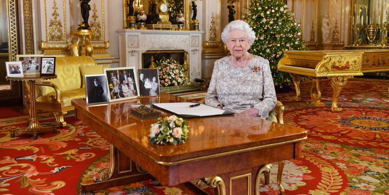As is tradition Queen Elizabeth II addressed her people this afternoon sharing her annual Christmas message Phtoo C POOL GETTY IMAGES