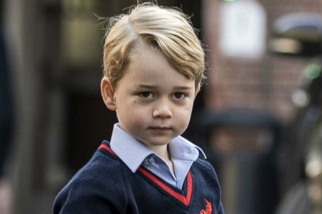 Certainly by age five The only person they will curtsy or bow to is the sovereign Photo C GETTY