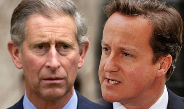 Charles' cringeworthy advice to Prime Minister David Cameron revealed Image Getty