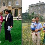 Charles and Diana pictured at Highgrove with Harry and WiIliam Image Getty