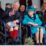 Charles and the Queen at the Braemar Gathering in September Image GETTY