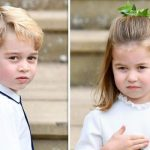 Charlotte is taking after her big brother George with ballet lessons Image GETTY