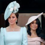 DUCHESSES Meghan Markle and Kate Middleton are reportedly not happy with each other Pic GETTY