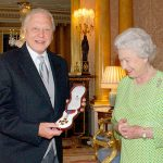 David receiving Insignia of the Order of Merit Photo C GETTY