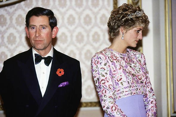 Diana and Charles looked miserable during the tour according to Mr Edwards Image GETTY