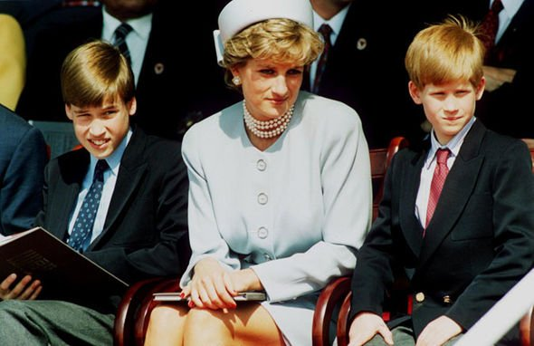 Diana sent her former butler on a shocking errand to teach her two sons about women Image Getty