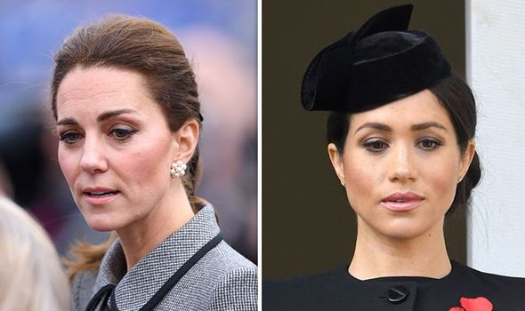 Duchess of Sussex and Duchess of Cambridge at each others throats Image GETTY
