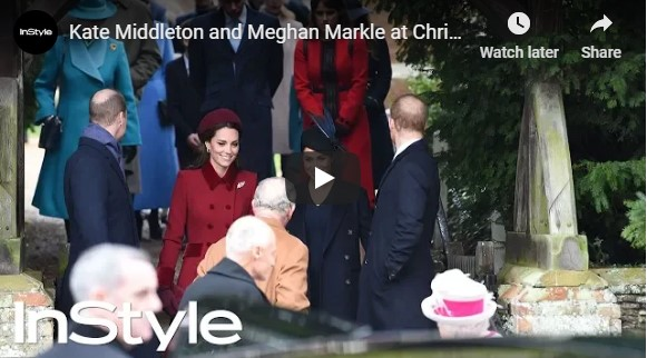 Everyones talking about Meghan Markles Christmas Day curtsy – see the clip