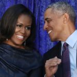Former US President Barack Obama and Michelle Image Mark Wilson Getty Images