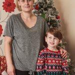 Hayden with his mother Kim Image Simon Jacobs Mercury Press