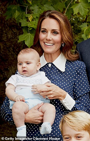 He most recently joined his family for an official portrait celebrating his grandfather Prince Charles 70th birthday