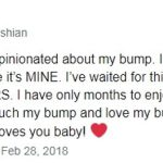 In February Khloe who was then pregnant with her first child True slammed followers for commenting on her tactile display