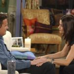 In Friends Monica is a control freak while Chandler is more easy going Image GETTY