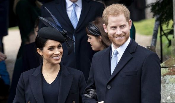 Meghan has hinted that her babys due date may be earlier than predicted Image Getty