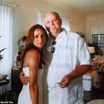 In an exclusive interview Thomas Markle revealed this photo of himself with his daughter at her first wedding banishing rumours he didnt attend