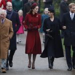 Kate 36 and Meghan 37 were greeted by adoring crowds as they made their way to St Mary Magdalene Church