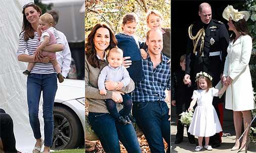 Kate Middleton best mummy moments e