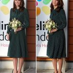 Kate Middleton looked incredible in polkadots Image PA REUTERS