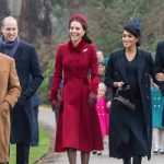 Kate William Meghan and Harry and Prince Charles have arrived or church service in Sandringham Image Samir Hussein WireImage