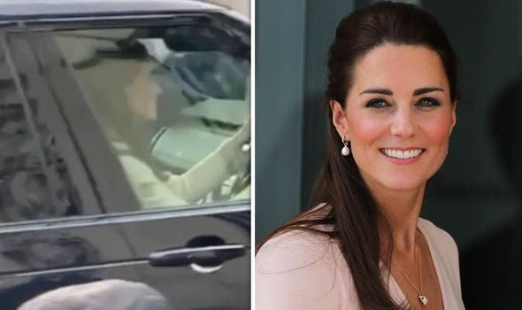 Kate drove herself to Buckingham Palace Image INSTAGRAM melissagrflx GETTY
