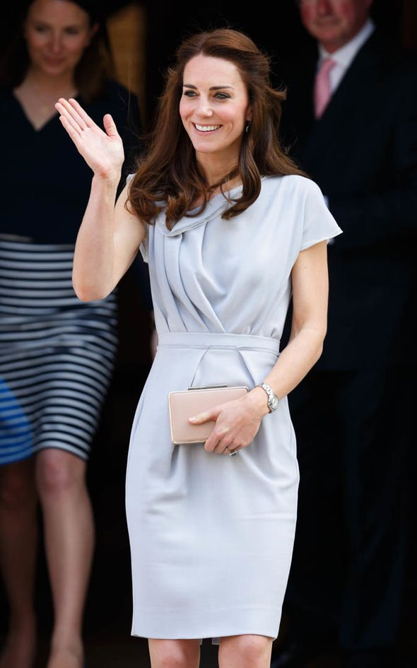 Kate is paying her respects to Princess Diana with her outfits an expert said Image GETTY