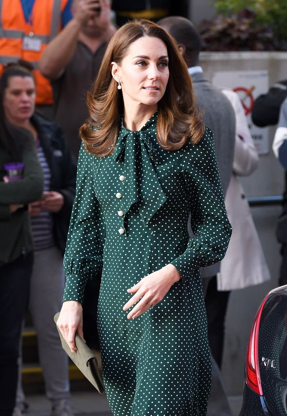 Kate is said to prefer to do more for herself rather than rely on staff Image GETTY