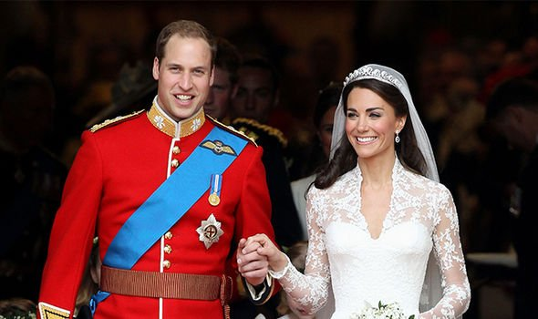 Kate married Prince William in a lavish ceremony during 2011 Image GETTY