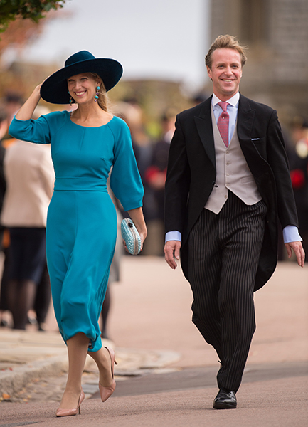 Lady Gabriella Windsor and fiancé Tom Kingston will marry in spring 2019 Photo C GETTY