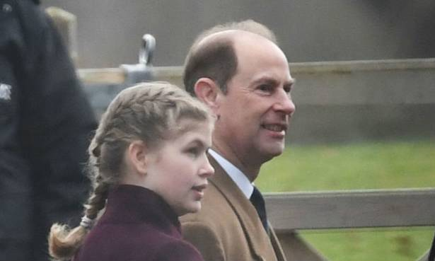 Lady Louise Windsor looks so grown up as she joins the Queen and royal family at church Photo C GETTY IMAGES 01