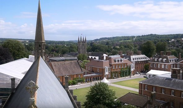 She reportedly had a number of relationships during her time at Marlborough College Image GETTY