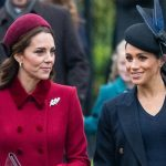 Meghan Markle and Kate have been dogged by rumours of a rift for the past few weeks Image GETTY