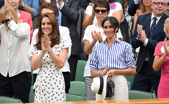 Meghan Markle and Kate have a reported strained relationship Image GETTY