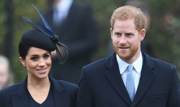 Meghan Markle and Prince Harry have had a mixed year Image Joe Giddens PA Wire