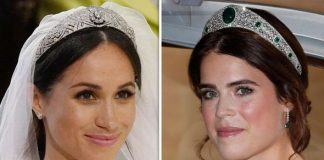 Meghan Markle and Princess Eugenie were both married in St Georges Chapel in Windsor this year Image GETTY