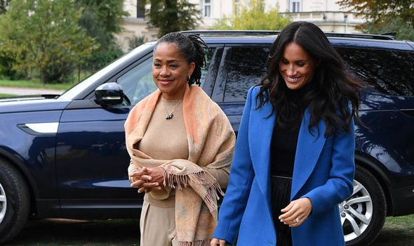 Meghan Markle and her mother Doria Ragland will spend Christmas together in Sandringham Image GETTY