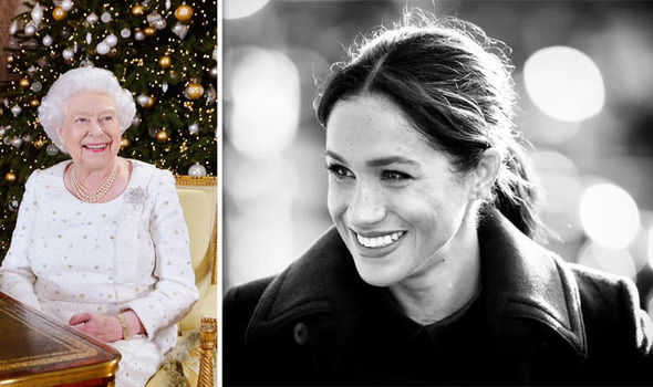Meghan Markle and the Queen Christmas in the royal household is a festive occasion Image Getty