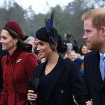 Meghan Markle attended Christmas service alongside Kate Harry and William Image GETTY