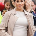 Meghan Markle baby Meghans pregnancy was announced on October 15 2018 Image GETTY