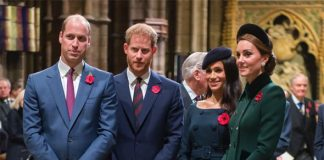 Meghan Markle is at the centre of a Royal Family row Image GETTY