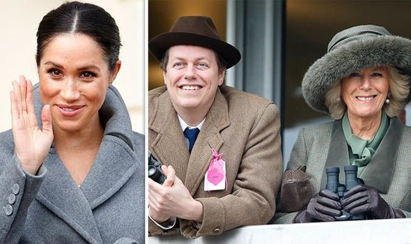 Meghan Markle is wonderful according to Tom Parker Bowles Image GETTY