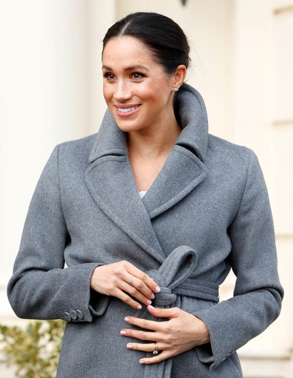 Meghan Markle royal baby The Duchess of Sussex is due to give birth in the spring of 2019 Image GETTY