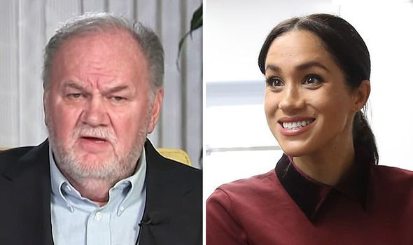 Meghan Markle was urged to reconcile with her dad Thomas before he is gone Image ITV•GETTY