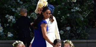Meghan Markles best friend Jessica Mulroney has pictures of royal wedding in her living room Photo C GETTY