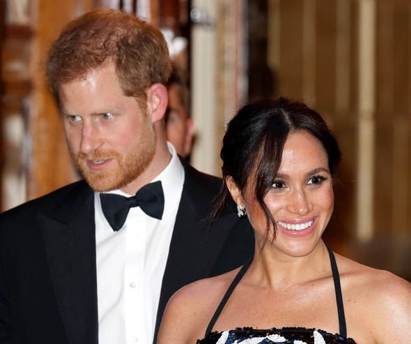 Royal staff are said to have given Meghan and Harry nicknames Image GETTY