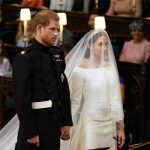 Meghan and Harry wed at St Georges Chapel in Windsor Image GETTY