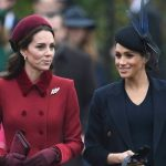 Meghan and Kate appear to have put their differences behind Image PA